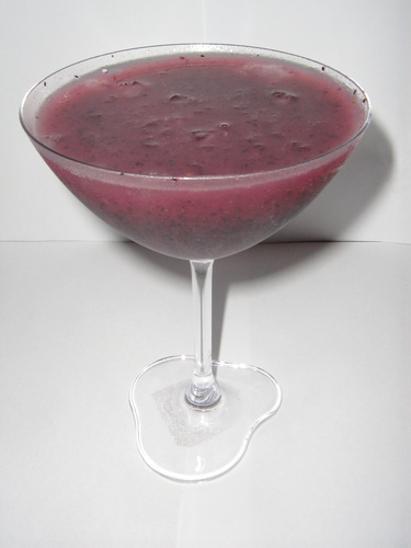 Frozen Blue-Berry Margarita